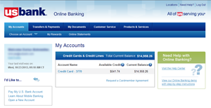 With U.S. Bank Online Banking, you'll enjoy many time-saving account  management features, including: